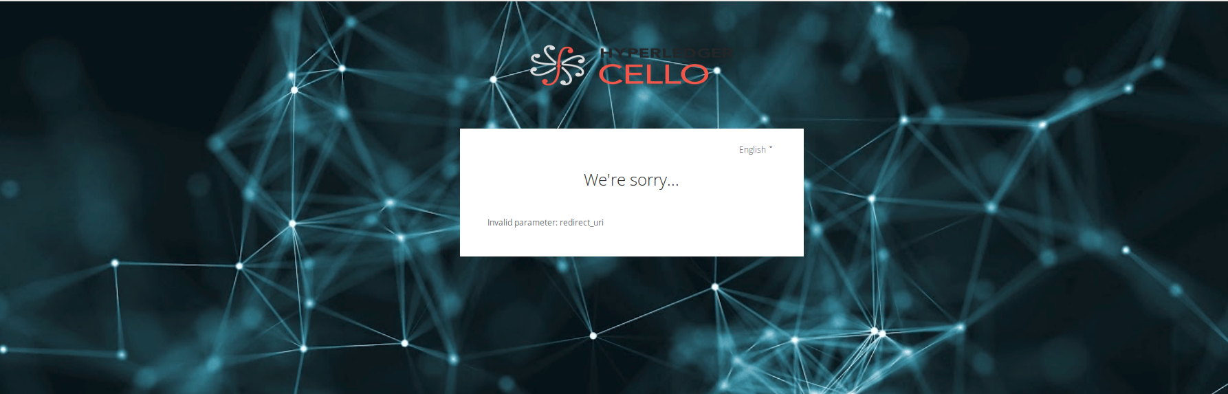 CE-580] Cello Chains are not getting created, always showing
